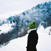 Zima v Štiavnickych vrchoch